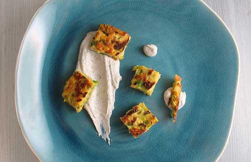 Moliūgų, briuselio kopūstų ir bulvių fritatos