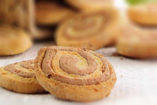 Citrinų ir šokolado skonio sausainiai