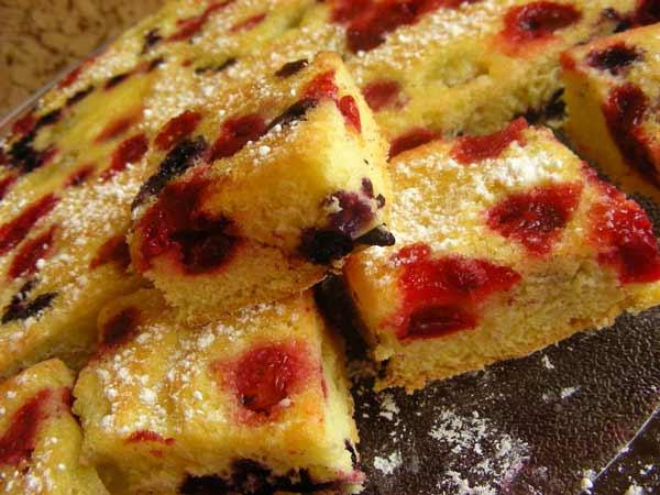 Labai greitas ir paprastas pyragas