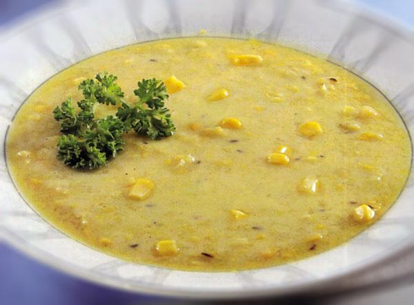 Neapolietiška trinta kukurūzų sriuba