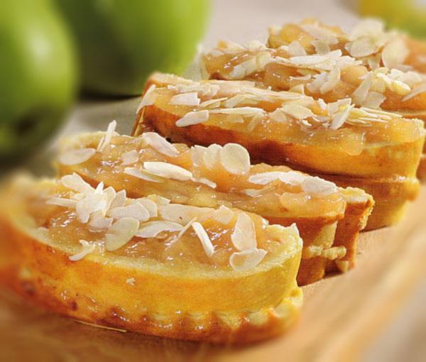 Pyragėliai su obuolių tyre