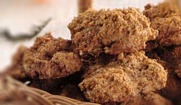 Greitai pagaminami riešutų skonio sausainėliai