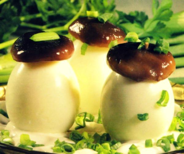 Kiaušiniai Grybukai